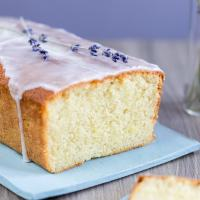 Lemon lavender cake loaf