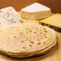 Crêpes with French cheese