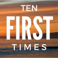 Ten first times - travel edition