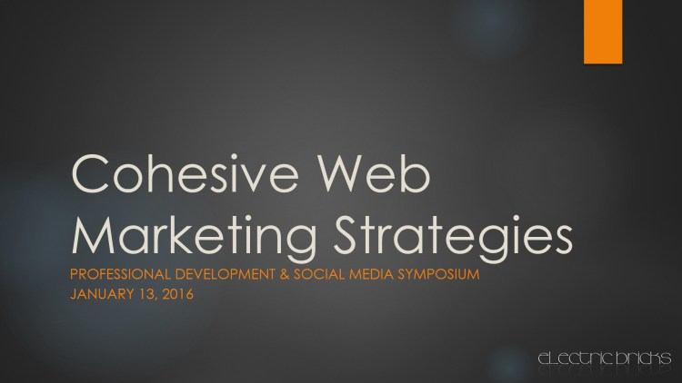 cohesive web marketing strategies