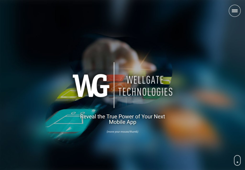 Wellgate Technologies responsive homepage