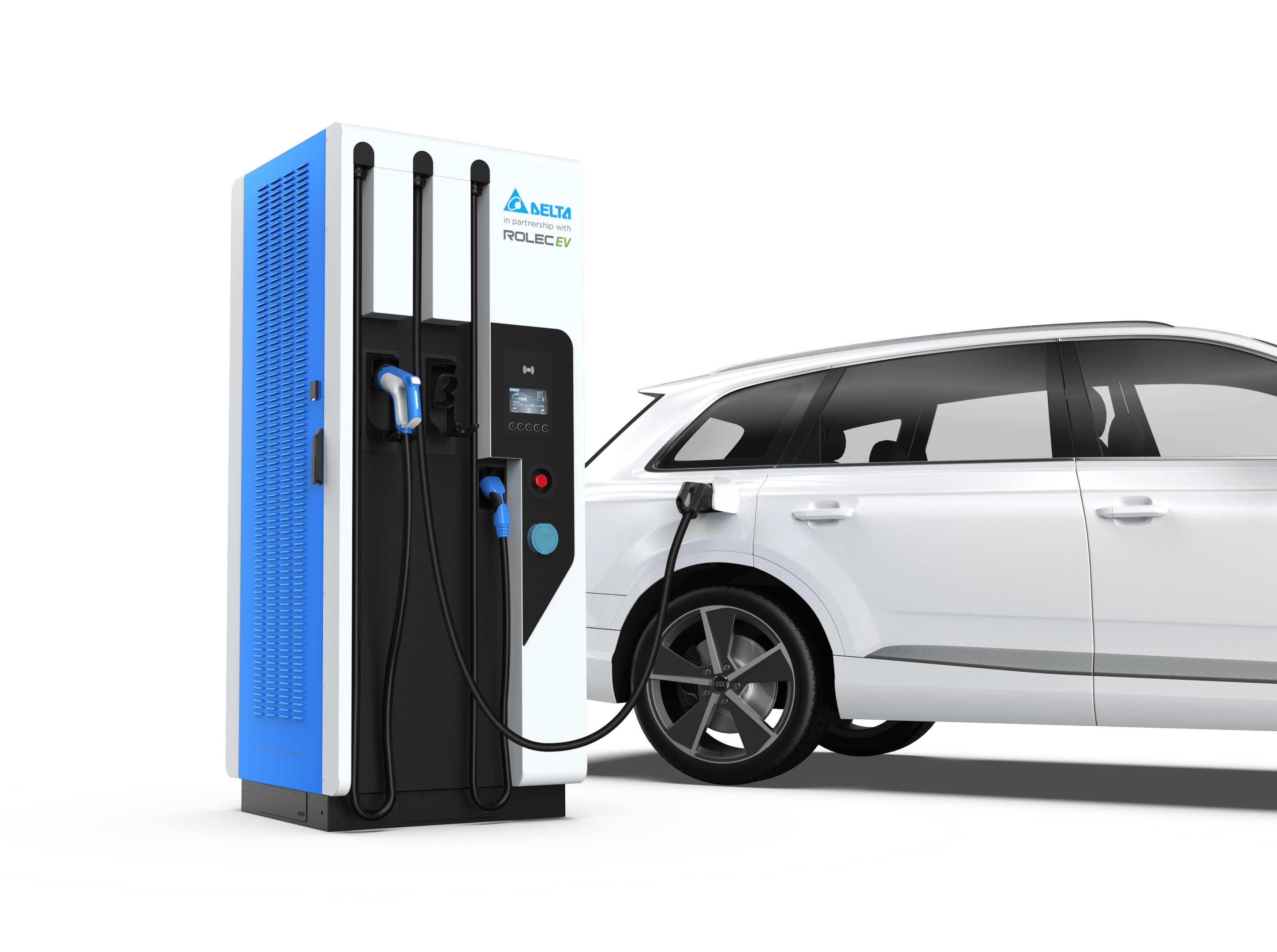 Delta UFC Ultra Fast Chargers for Car Parks and Public Charging