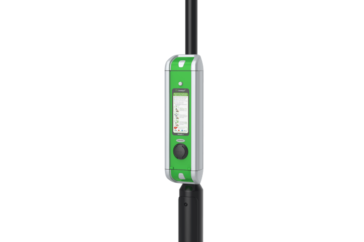 Rolec's StreetCharge V2 Range of PAYG lamp post EV chargers