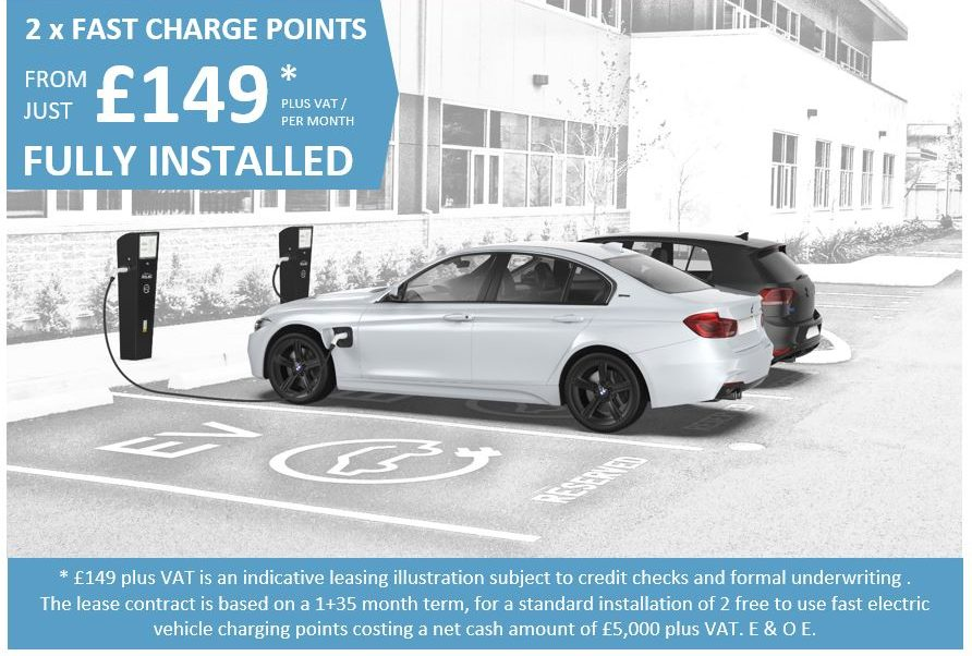 Leased EV Chargers