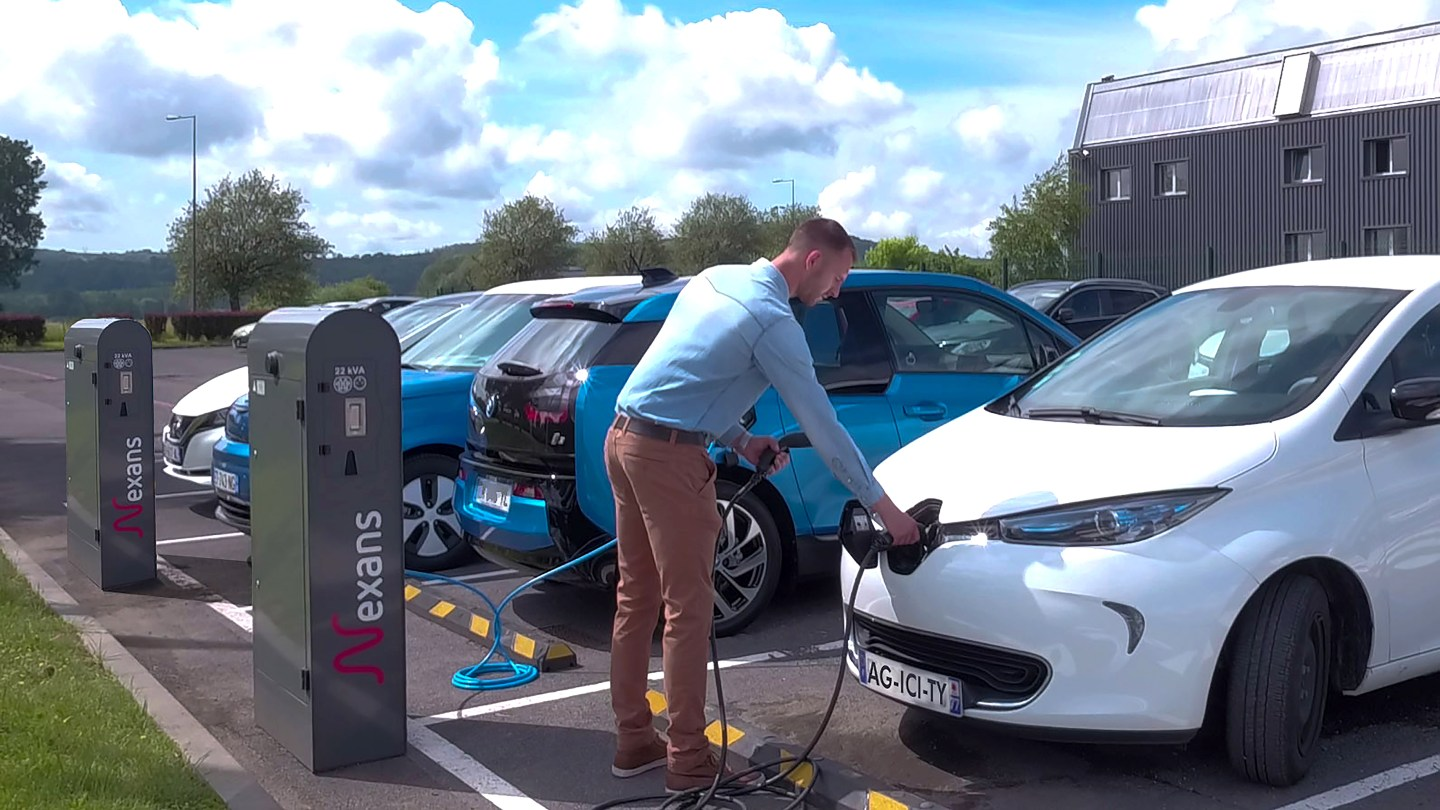 Nexans Agicity EV Charging Range from ECC UK