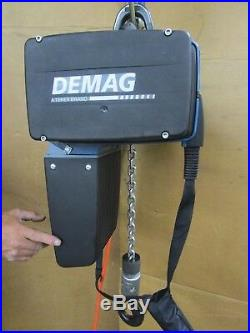 Demag DC Pro 10 2200 Lb 1ton 2 Speed Electric Chain Hoist