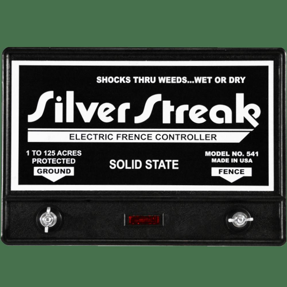 Fence charger silver streak 541 lightning diverter included silver streak rev 2 fencer sciox Choice Image