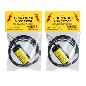 Lightning Diverter 2-Pack