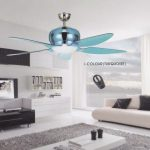 electrician Installing white ceiling fan comes with light, on the Elmark ceiling now