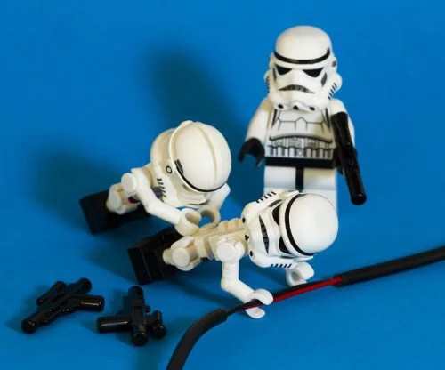 dangers of being an electrician lego