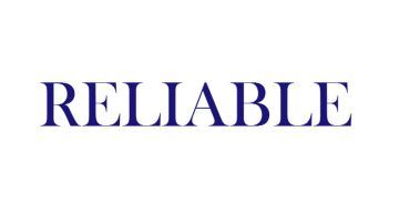 "a picture of word ""reliable"""