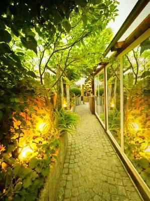 Santa Barbara Landscape Lighting - Private Garden