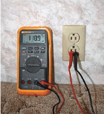 A quality true RMS meter can detect minor variations in voltage sine-wave