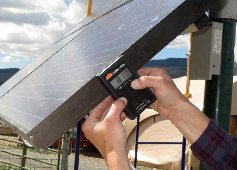 Instrumentos de medición de la Irradiación Solar