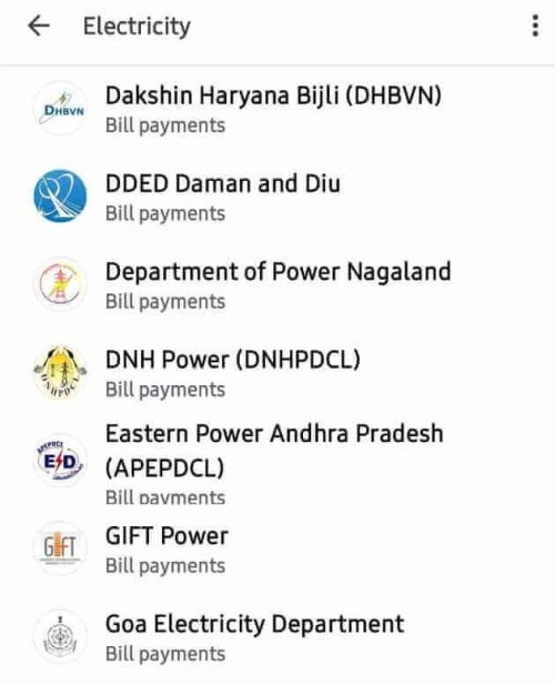 Electricity Bill Payment Through Google Pay