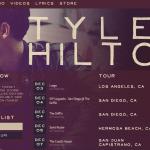 Tyler Hilton | BandsInTown | WordPress Plugin