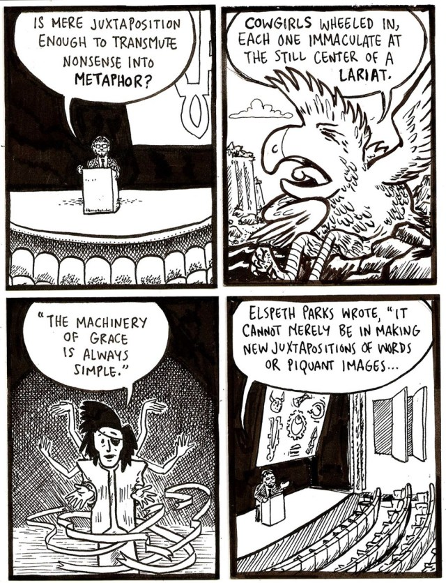 Isaac Cates, draw two panels, 9