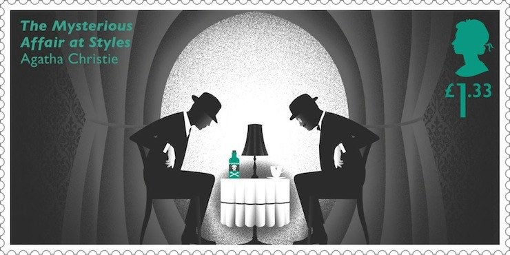 New Agatha Christie Themed Stamps