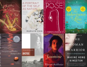 Asian American book covers