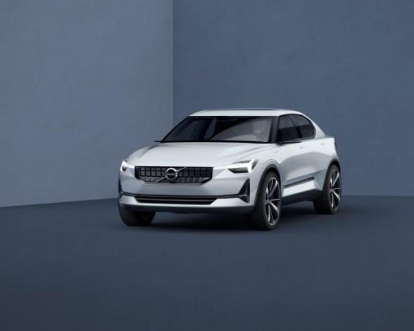 Volvo sedan prototype