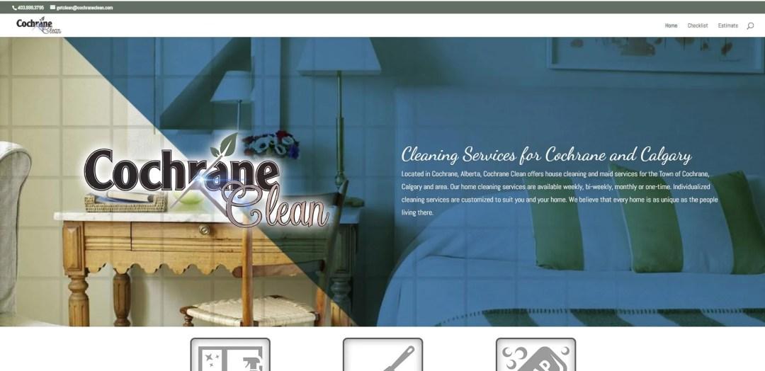 Calgary Website Development - Cochrane Clean