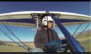 EMG-6 Face Cam Flight #3 (Video)