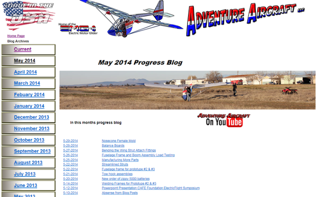 http://legacy.electricmotorglider.com/Progress/May_2014_progress.html