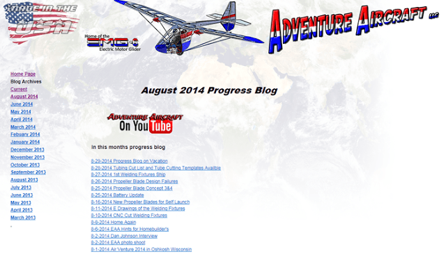 http://legacy.electricmotorglider.com/Progress/August_2014_progress.html