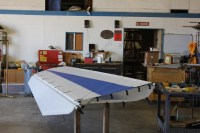 Wing Installation with New Streamlined Struts