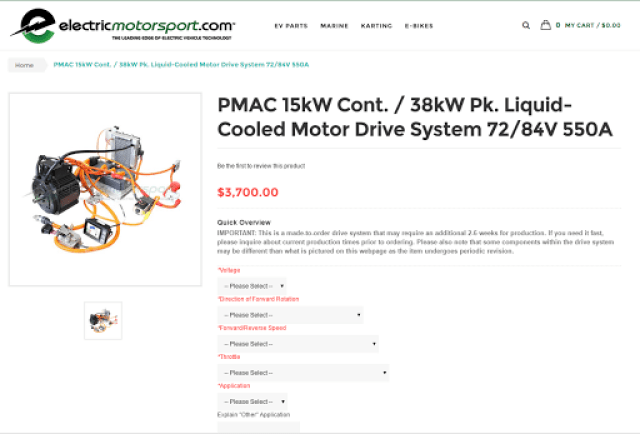 http://www.electricmotorsport.com/pmac-15kw-cont-38kw-pk-liquid-cooled-motor-drive-system-72-84v-550a.html
