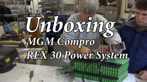 Unboxing MGM Compro REX 30 Power System ***EMG-6*** (Video)