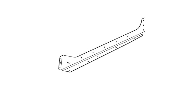 rudder rib 3 right bent