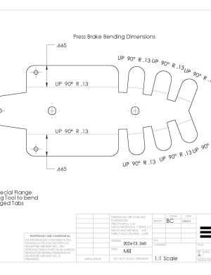 rudder rib 6