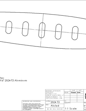 horizontal stabilizer outboard rib