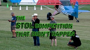 The STOL Competition that didn't happen