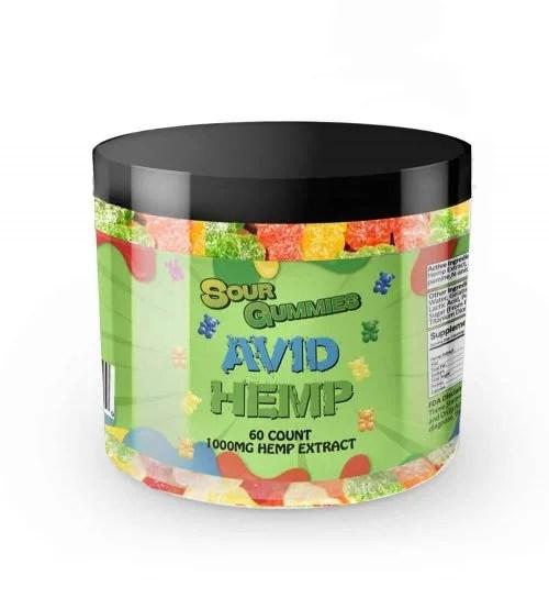 sour cbd gummy bears