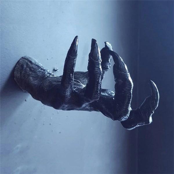 Witch Hand Sculpture key holder