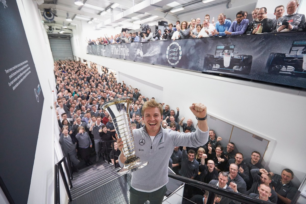 Finally On Top, Nico Rosberg Walks Away