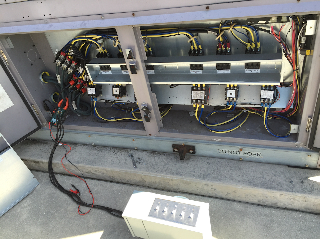 power factor correction equipment testing tool