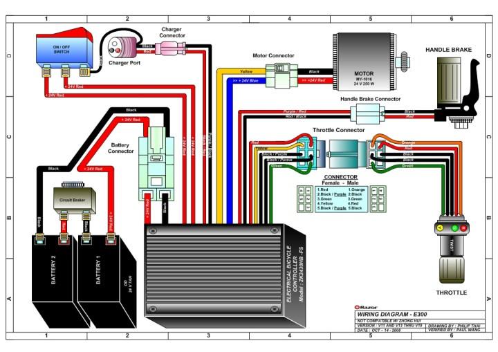 Razor Electric Scooter Parts Motorbk Co