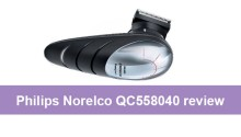 Philips Norelco QC558040 review