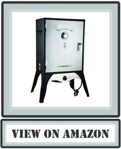 """Top Camp Chef Smoker 24"""" Smoke Vault Extra Large with Stainless Door and Adjustable Shelves (SMV24 ) 2019"""