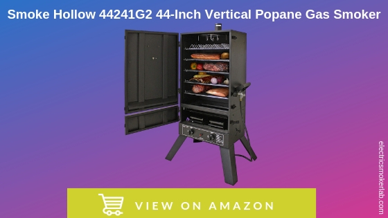 Smoke Hollow 44241G2 44-InchVertical Propane Gas Smoker