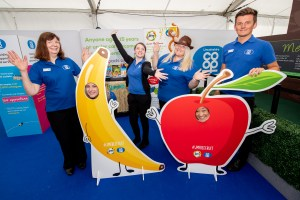 Lincolnshire Show Co-op Fruit Stands