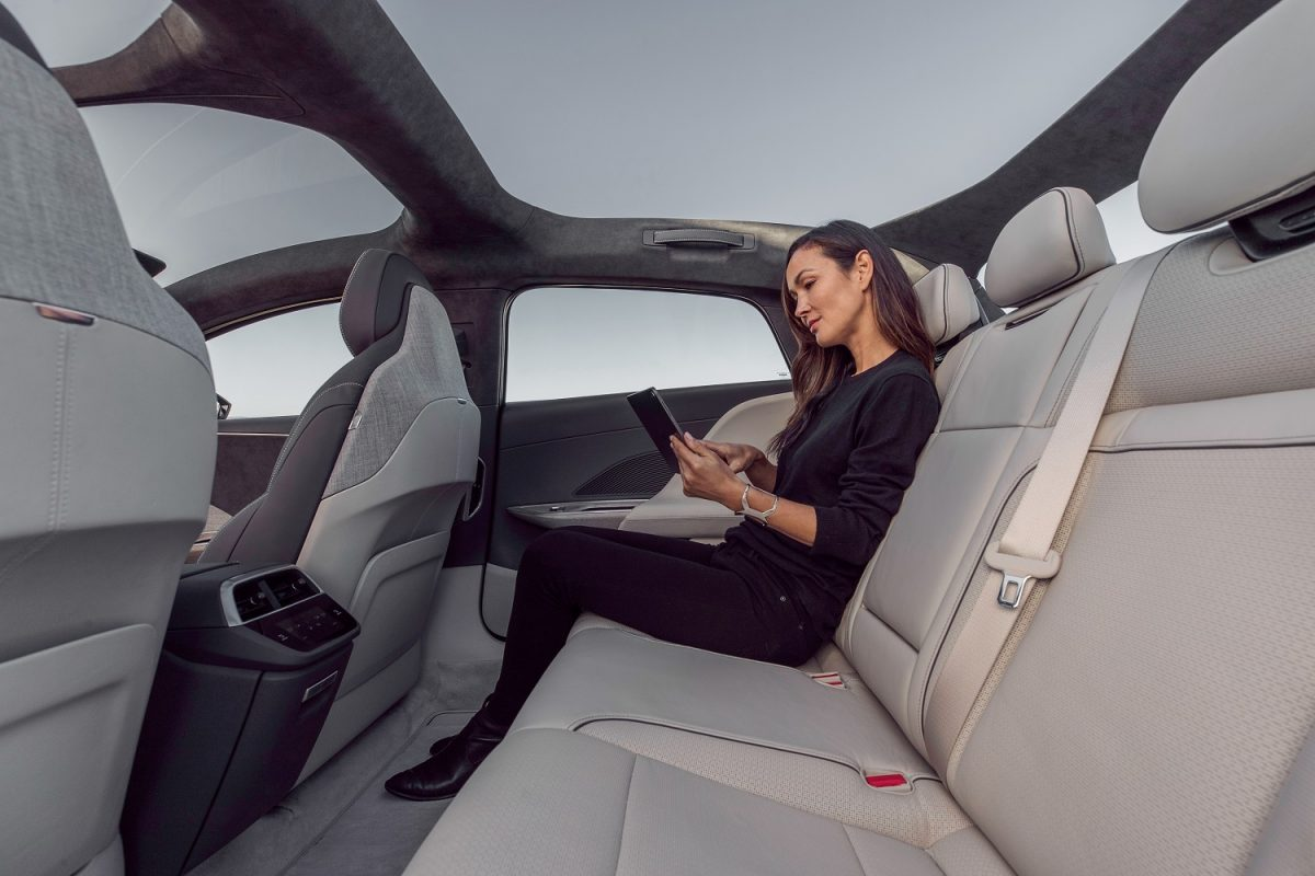 Lucid Air Interior rear