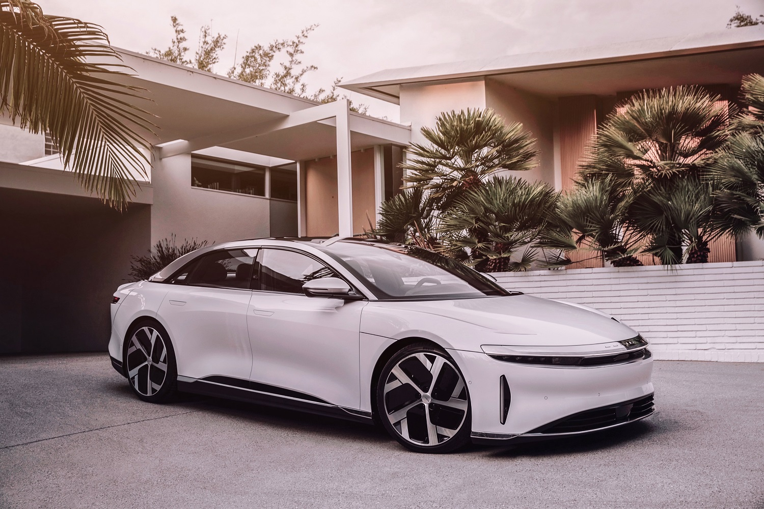 Lucid Air front shot