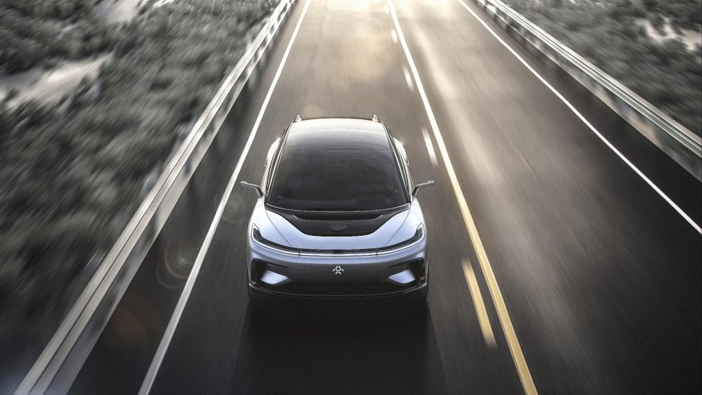 FF91 on the road
