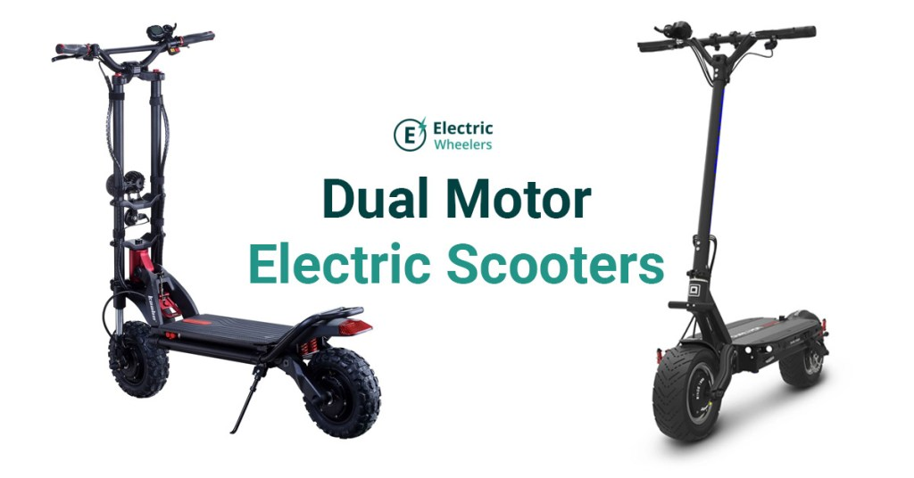 Cover photo for dual motor electric scooters
