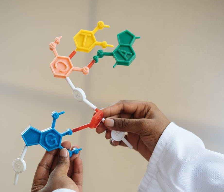 Hydrogen atom structure