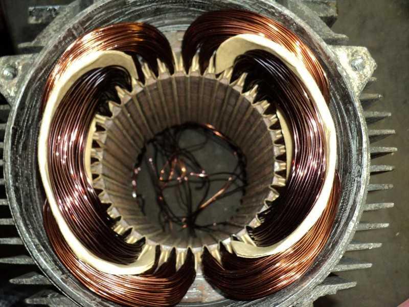 обмотка электродвигателя в картинках